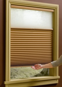 Honeycomb Shades with LiteRise