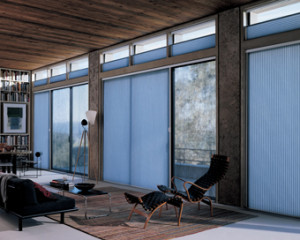 Honeycomb Shades for Sliding Glass Doors