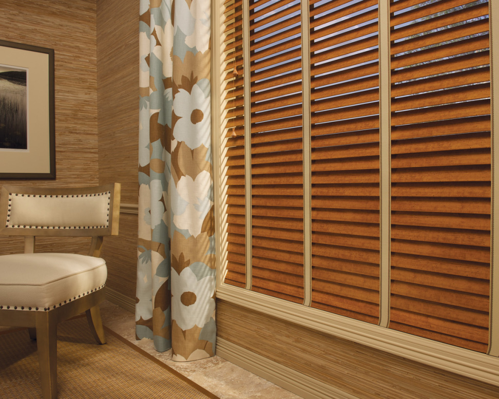Durable Window Treatments - Faux Wood Blinds