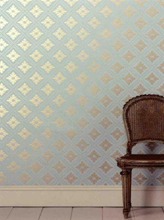 Wallpaper Vs. Paint. Farrow and Ball Wallpaper