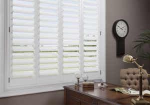 Office Window Treatments. NewStyle™ Hybrid Shutters