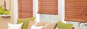 Parkland® Hardwood Wood Blinds