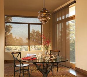 Skyline® Gliding Window Panels & Designer Screen shades
