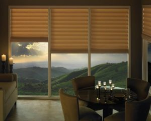 Vignette®  Modern Roman Shades in the Dining Room